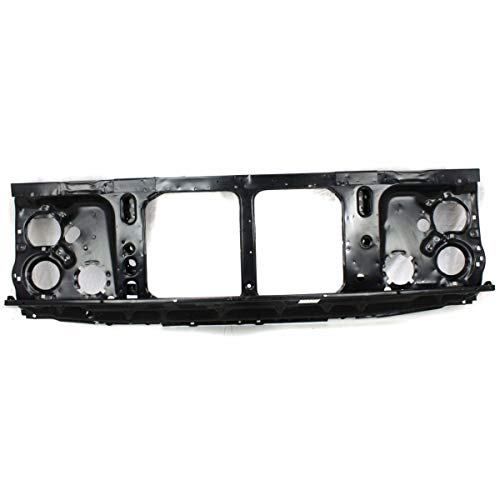 New Front Radiator Support Assembly For 1981-1988 Chevrolet Suburban Black, Steel, With Single Headlamps GM1225109