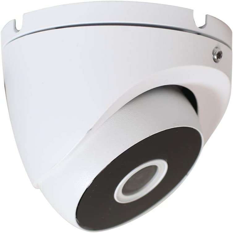 HDView 2.4MP HD 4-in-1 (TVI/AHD/CVI/960H) Dome Camera, UL Listed Certificated, 1080P Indoor Outdoor 2.8mm Wide Angle Fixed Lens Weatherproof Infrared Night Vision