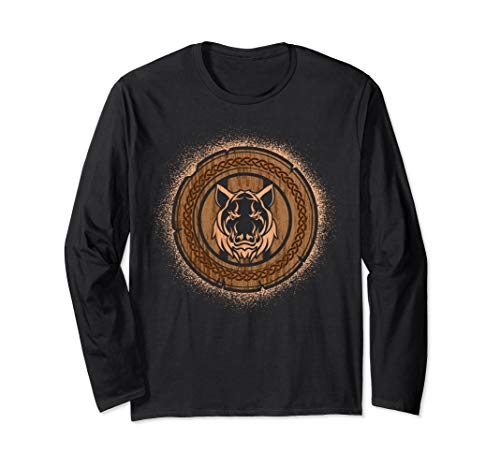 , Norse Mythology Valknut Long Sleeve T-Shirt