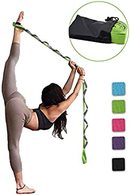 SANKUU Correa de Yoga, Correa multipartido, 12 bucles de ...