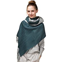 """NOVAWO Extra Large 78""""x27"""" Soft Cashmere and Wool Shawl Wrap for Women (8 colors)"""