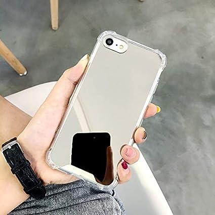 Amazon.com: KEXAAR Funda de espejo, compatible con iPhone ...