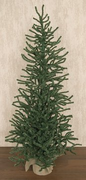 Heart of America Pine Tree With Burlap Base 4 Ft.
