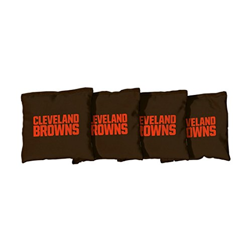 Victory Tailgate NFL Cleveland Browns Cornhole Bag, Size Regular, (Cleveland Browns Cornhole Bags)