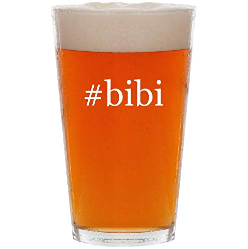 - #bibi - 16oz Hashtag Pint Beer Glass
