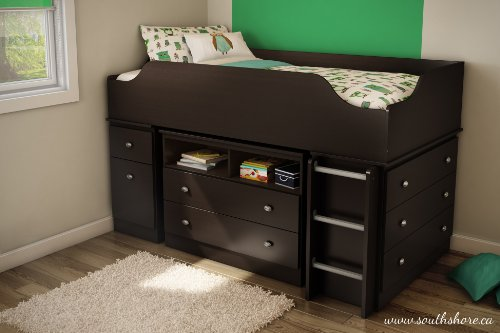 South Shore Furniture Tree House Collection Loft Bed Twin