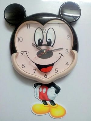 Buy GATTS Mickey Mouse Wall Clock Cartoon Characters Wall Online