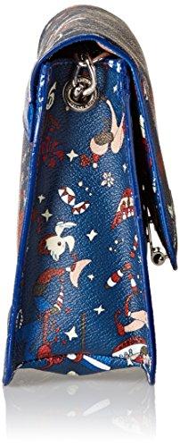 Piero body Di Blue Prussia Y5 Messenger blu Guidi Women's Cross Small Bag rnzCrqwXx