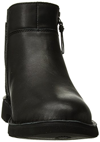 UGG Leather Black Boot Fashion Women's Rea qSnxwBZr6q