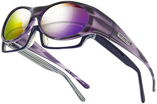 Jonathan Paul Eyewear Binya JP Fitovers - Purple Zebra - ...