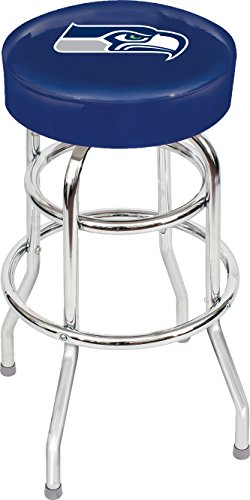 Imperial Officially Licensed NFL Furniture: Swivel Seat Bar Stool, Seattle Seahawks