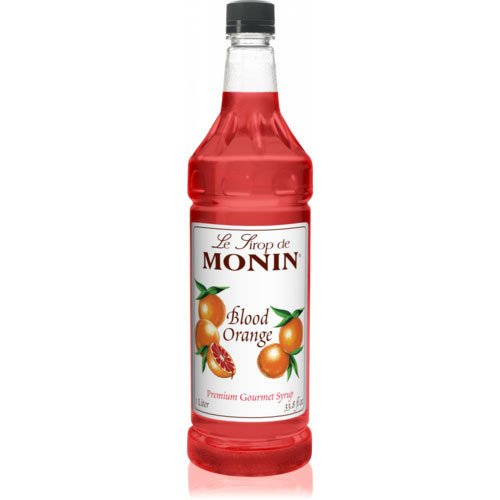 (Monin Blood Orange Syrup (1L) Mixer)