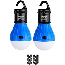 Gold Armour LED Camping Light - LED Lantern Camping Lantern Portable LED Tent Lantern Camping Gear Camping Equipment for Outdoor and Indoor (4Pack)