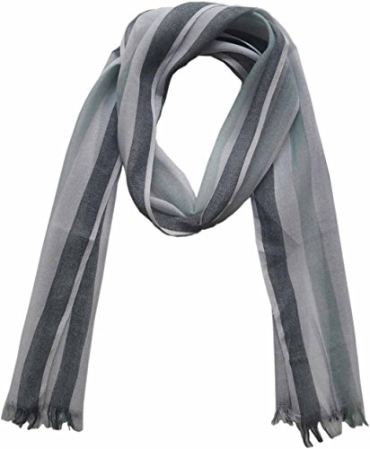 Fashion Party Cheap Viscose Rayon Stripe summer Scarf, Size 160x22cm