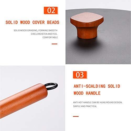 Poêle Ménage Ragoût Pot Non Enduit Antiadhésif Créatif Cadeaux Batterie de Cuisine Ensemble Chaudron en Fonte Pots