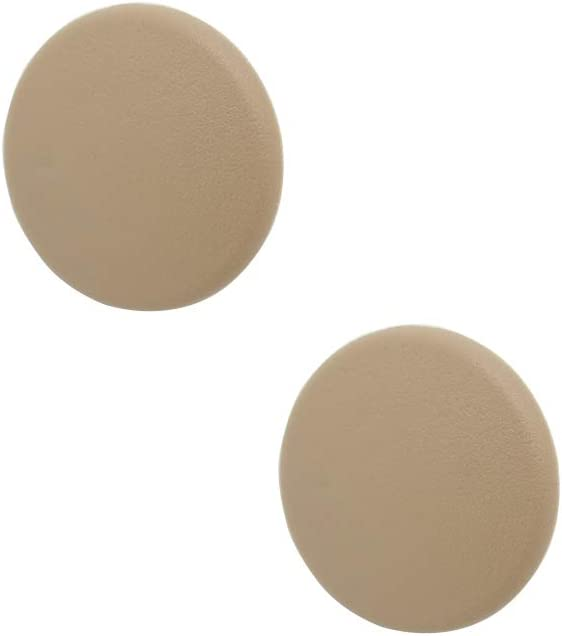 Armrest Cap Cover for 07-19 Chevy Tahoe, Suburban, Yukon, Cadillac Escalade Seat Parts - Replaces OEM GM 15279689 Left or Right Rear Bucket Seats Arm Rest Handle Trim Bolt Vehicle Accessories - Beige
