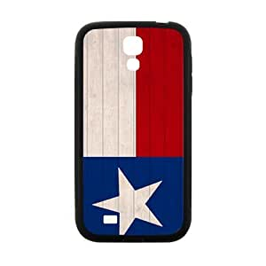 DAZHAHUI Texas Flags Cell Phone Case for Samsung Galaxy S4