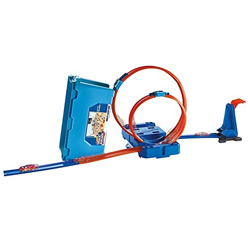 - Hot Wheels Track Builder Multi-Loop Box
