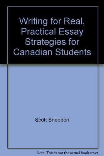 Essay writing for canadian students 6th edition