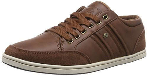 British Knights Men's Talco Low-Top Trainer Brown - Braun (Dk Brown 02) nrY9Q