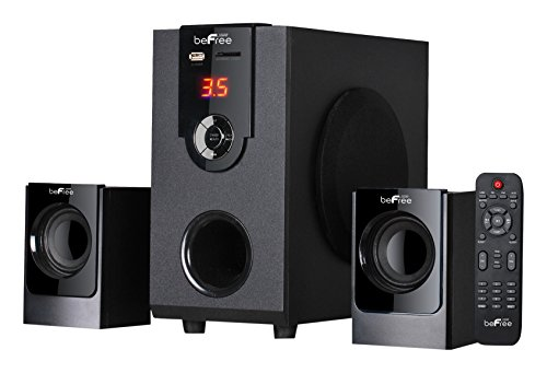 beFree Sound BFS-30 2.1 Channel Surround Sound Bluetooth Speaker System by BEFREE SOUND
