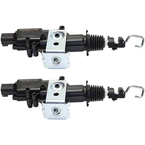 Door Lock Actuator Set of 2 for 2004 Lincoln Lincoln Town Car Front Left and Right Side