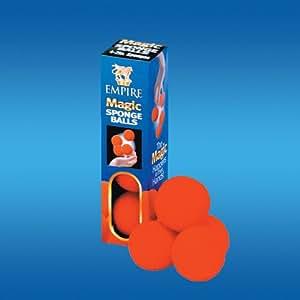 4 bolas de goma espuma super suave de 52 mm de trucos de magia