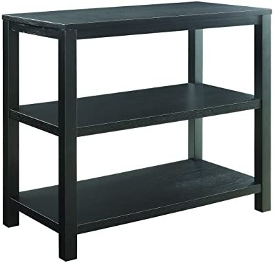 Ave Six Merge Foyer Table, Black
