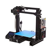 3D Printer Prusa i3 DIY Kit Aluminum Self Assembly Aluminum Frame Desktop 3D Printer Print PLA ABS Filament 1.75mm by Dcreate