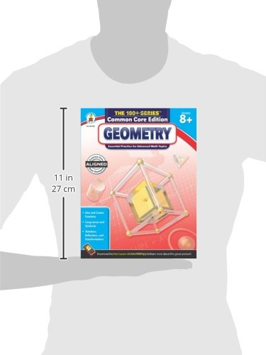 Counting Number worksheets geometry worksheets year 9 : Geometry, Grades 8 - 10 (The 100+ SeriesTM): Carson-Dellosa ...