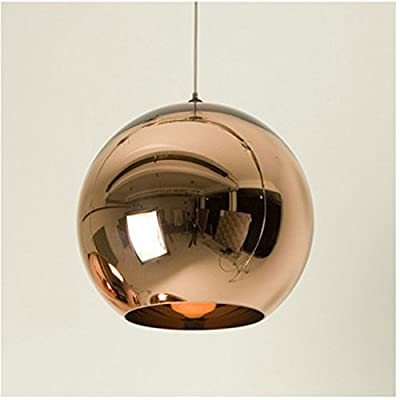 BLYC- Creative Space Plating Glass ball minimalist modern circular chandelier