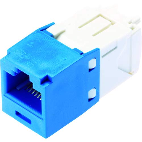 (Panduit CJ688TGBU Category-6 8-Wire TG-Style Jack Module, Blue)
