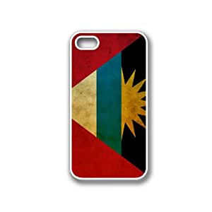 Antigua And Barbudan Flag White iPhone 4 Case - Fits iPhone 4 & iPhone 4S