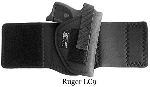 DTOM-AH4-Neoprene-and-Nylon-Ankle-Holster-For-Ruger-LC9-Diamondback-DB9-Beretta-81-84-85F-Kahr-CW9-Walther-P22-Compact-Kel-Tec-PF-9Bersa-Thunder-380-Makarov-FEG-PA-63-CZ-USA-CZ-83-and-More