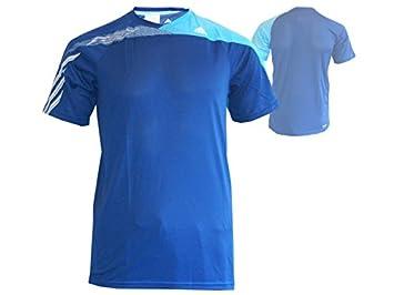 adidas F50 SS Clima té y niños Camiseta de Fitness Deporte Azul: Amazon.es: Deportes y aire libre
