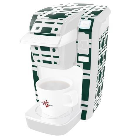 Boxedハンターグリーン – デカールスタイルビニールスキンKeurig k10 / k15 Mini Plusコーヒーメーカー( Keurigに含まれません   B0181DEAU8