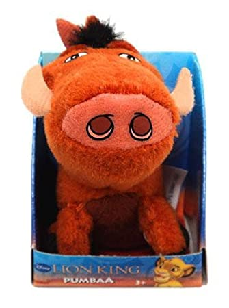 Mini Size Pumba Peluche Toy - Lion King Peluche Figures