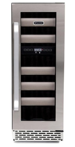 Whynter BWR 171DS 17 Bottle Stainless Refrigerator