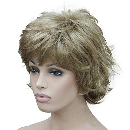 Shag, Soft & Full Synthetic Wig COLOUR CHOICES 15H613 6inches ()
