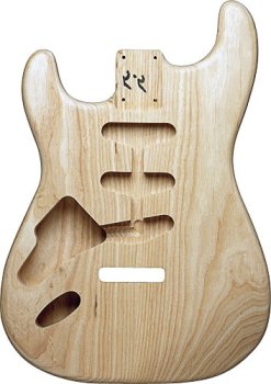 REPLACEMENT STRAT® BODY ASH LEFT HAND UNFINISHED