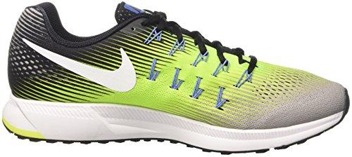 Nike 831352, Zapatillas de Running Hombre, Multicolor (Ghost Green/Black/Pure Platinum), 38.5 EU