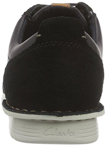 Clarks Polysport Sneakers Combi Run Black Nero Uomo rZqnwrCxT