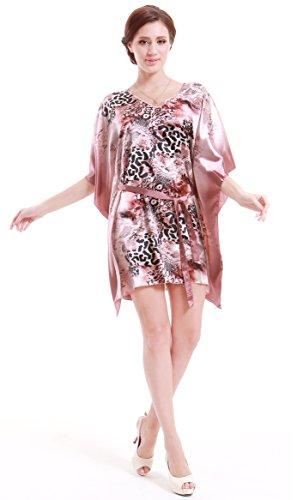 Buy beautiful short pink dress - 7