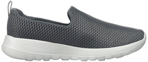 Baskets Go Enfiler Walk Femme Skechers Charbon Joy HAdtqpw