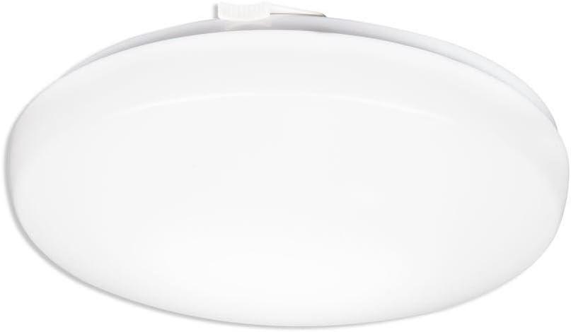 Lithonia Lighting FMLRL 11 14830 M4 11-Inch 3000K LED Low Profile Round Flush Mount