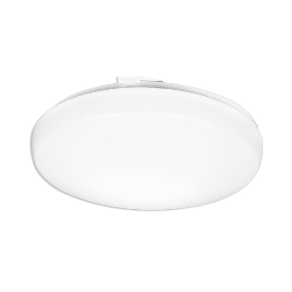 Lithonia Lighting FMLRDL 20 35840 M4 20 in. 44W White LED Round 120V Dimmable Ceiling 4000K, 4400 Lumens, 220W Equivalent by Lithonia Lighting