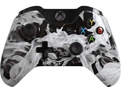 Custom Xbox One Controller Special Edition White Fire Controller