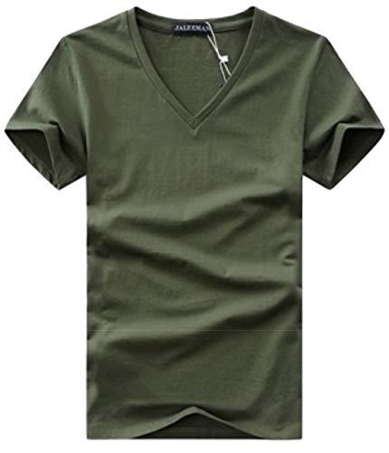 [シービリーヴ] Tシャツ Vネック 半袖 無地 インナー カジュアル シャツ シンプル 良質素材 かっこいい 速乾 薄手 部屋着