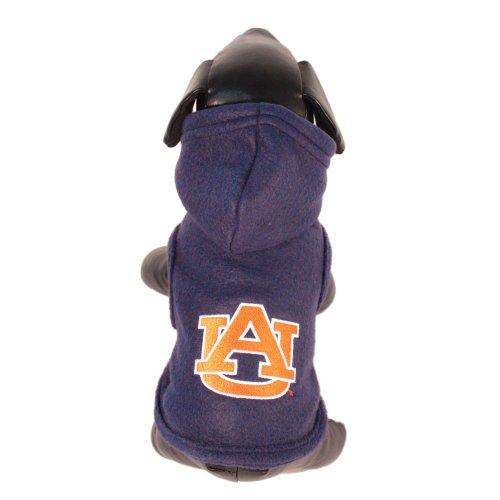 NCAA Auburn Tigers Polar Fleece Hooded Dog Jacket, X-Large, My Pet Supplies
