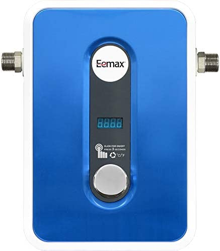 Eemax EEM24013 Electric Tankless Water Heater, Blue